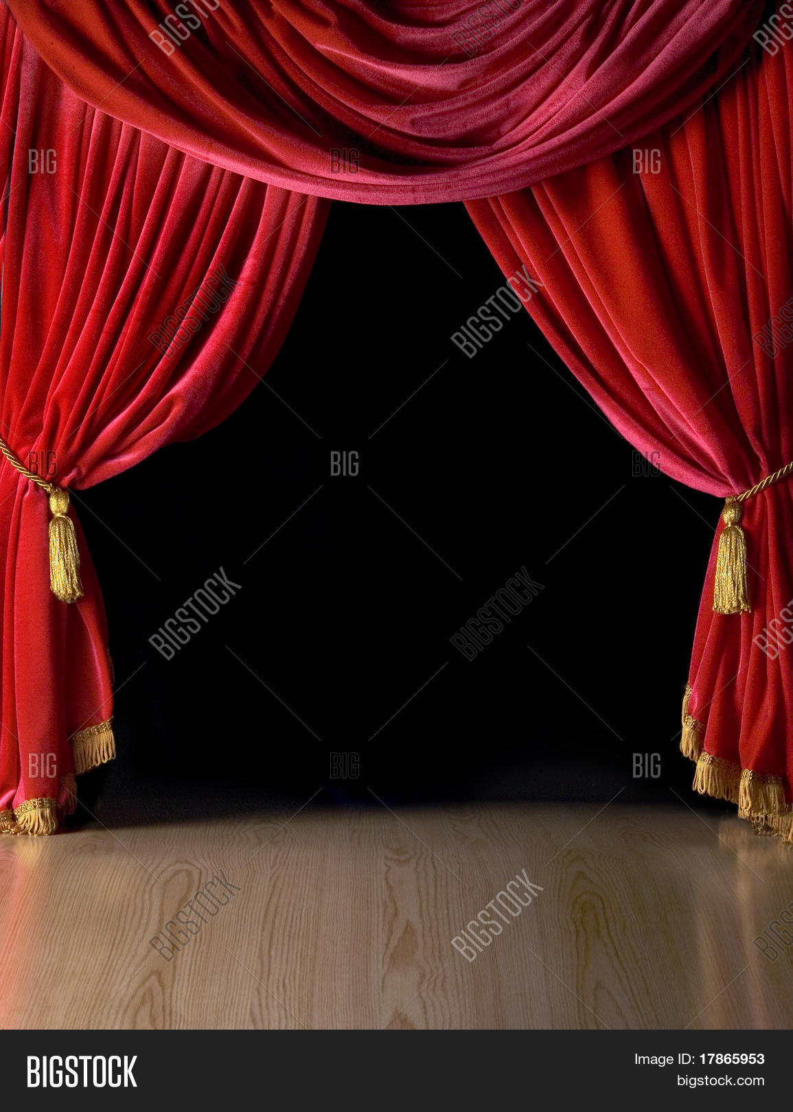 red of stock curtain image curtains drapery theater velvet