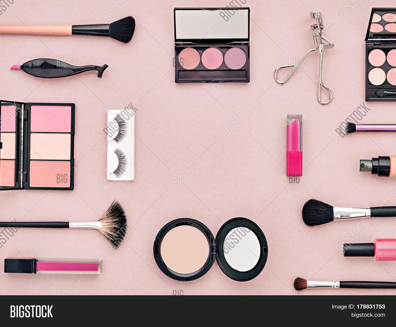 Fashion Cosmetic Makeup Set Woman Image Photo Bigstock