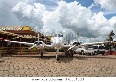 Airplane Attraction For Tourists At The Rodo Master