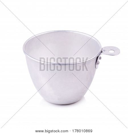 measuring cup set on isolated on white background.