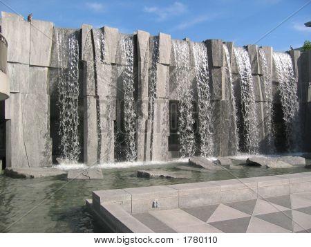 Mlk Memorial Waterfall