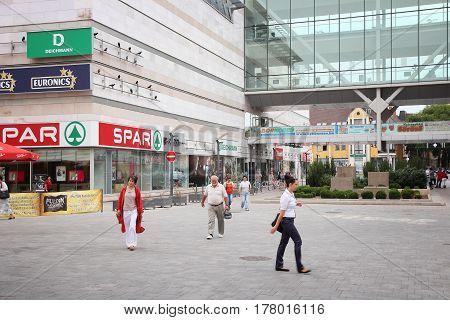Hungary Shopping
