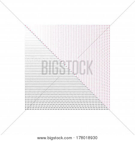 Halftone Dots. Dots on White Background. Halftone Texture. Halftone Dots. Halftone Effect. Vector. Angle of the point. Background halftone. Comic book background
