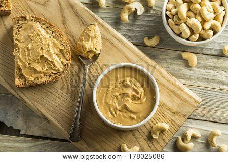 Homemade Cashew Peanut Butter
