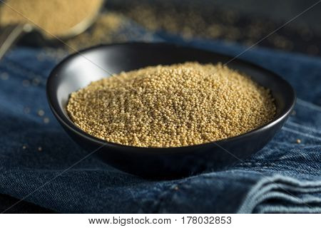 Raw Organic Amaranth Seed