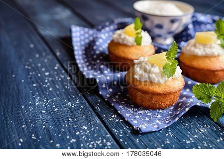 Coconut And Pineapple Muffins