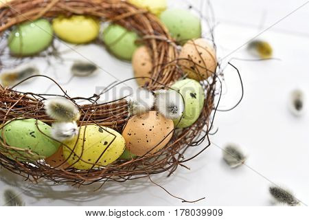 Abstract Composition For Easter Celebration.