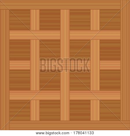 Flooring pattern named CHANTILLY PARQUET - vector illustration of an antique wooden flooring pattern.