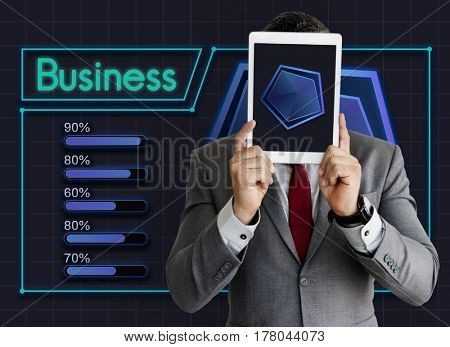 Start up Plan Business Goals Diagram