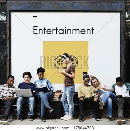 Game Controller Multimedia Entertainment Graphic Illustration