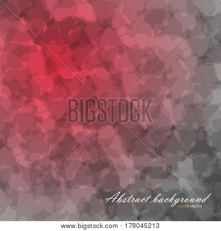 Abstract flow texture background with diagonally gradient backdrop gray and red color