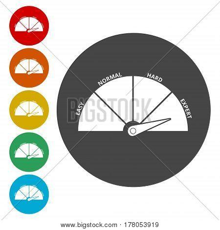 Scale icon. Vector illustration, simple vector icon