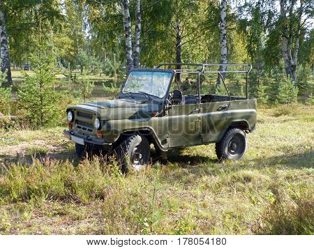 Soviet off-road 4x4 military light utility vehicle
