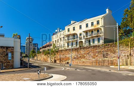 View of Millers Point District in Sydney - Australia, New South Wales