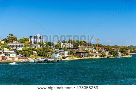 Balmain East, a suburb in the Inner West of Sydney, Australia