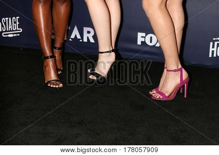LOS ANGELES - MAR 14:  Ryan Destiny, Jude Demorest, Brittany O'Grady at the celebration of the music for FOX's new series 'Star' at iHeartRadio Theater on March 14, 2017 in Burbank, CA