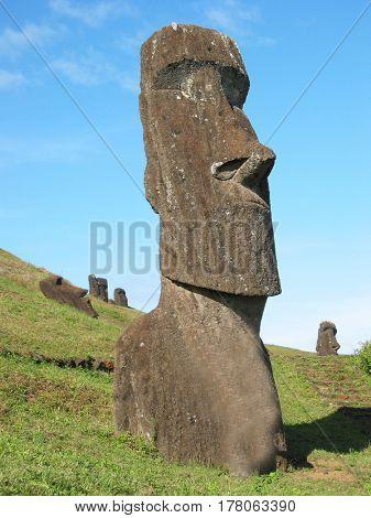 Moai of Easter Esland
