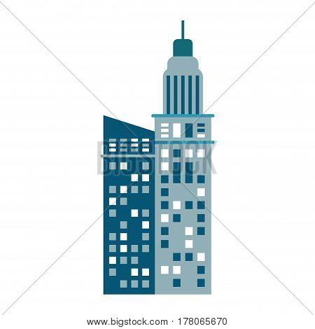 building urban skyscraper image vector illustration eps 10
