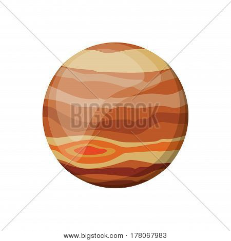 jupiter planet space image vector illustration eps 10