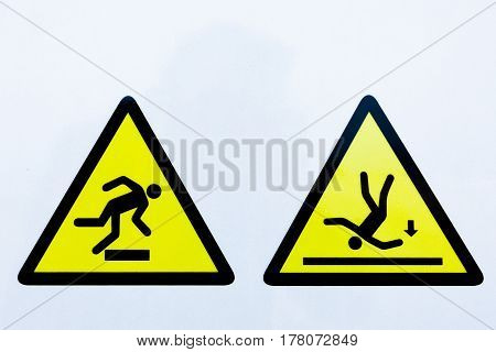 Collection Of Warning Signs
