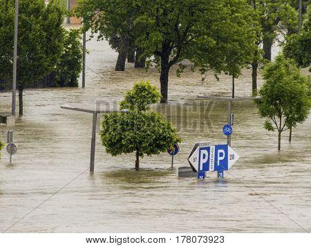 flood, linz, austria