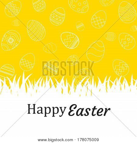 Happy easter egg background and wallpapers.Can be used for wallpaperflyers invitation posters brochure greeting card.