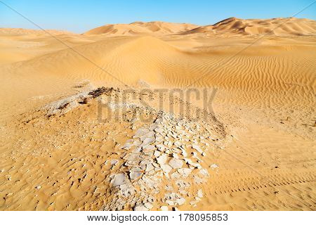 In Oman Old Desert      Outdoor  Sand