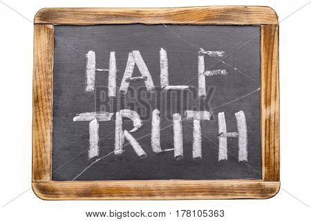 Half Truth Framed