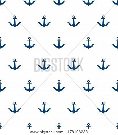 Decorative fabric texture print. Naval banner background. Flat navy illustration for your design