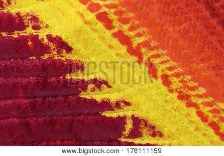 Fabrics With Warm Tones Yellow And Orange