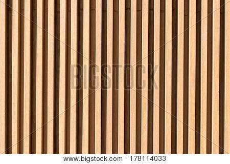 Brown wood plank wall texture background for modern building