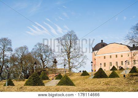 Uppsala Castle royal castle in the city of Uppsala Sweden Europe