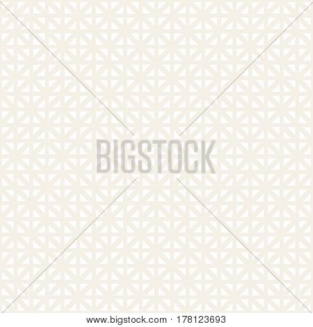 Geometric Ethnic Background With Symmetric Lines Lattice. Stylish Subtle Texture. Vector Abstract Seamless Pattern.