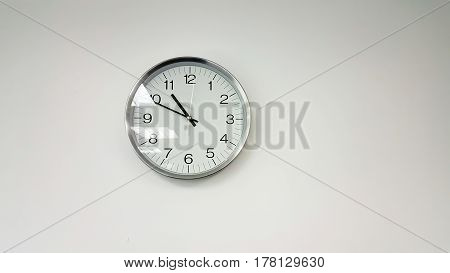 Simple clock or watch and background .
