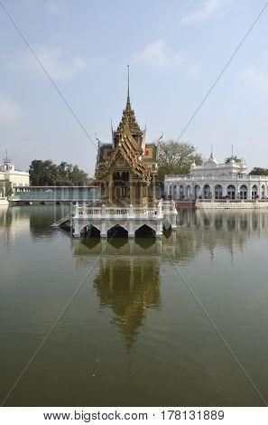Aisawan Dhiphya-Asana Pavilion Bang Pa-In Summer Royal Residence Thailand Ayutthaya