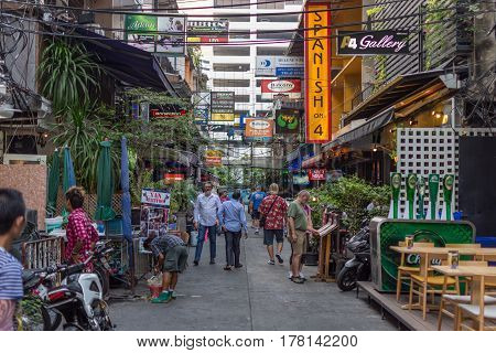 Patpong Night Market On Silom Road
