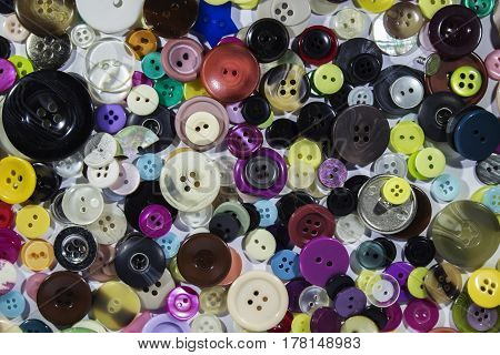 Lots of miscellaneous buttons in many different styles
