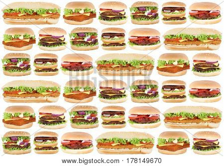 Fast Food Background Hamburger Cheeseburger Burger Fastfood
