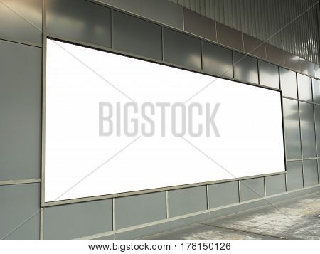 Big billboard on the wall. You can put your advertising media on billboard