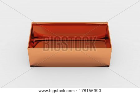 Copper Box Tray High Angle