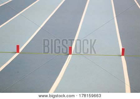 Track And Field Running Lines