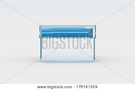 Glass Box Front View