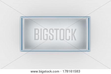 Glass Box Top View