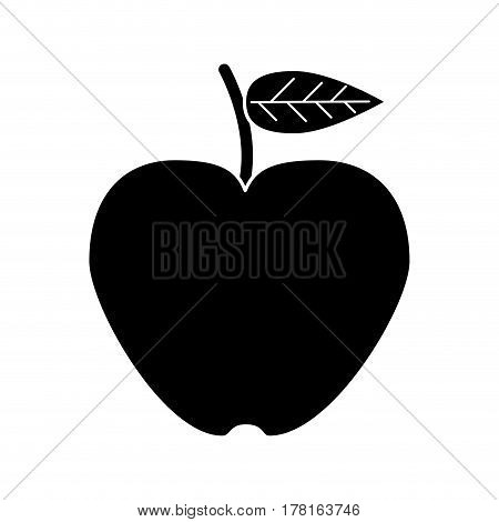apple lose weight healthy food vector illustration eps 10