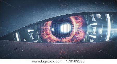 Mean Cyber Eye