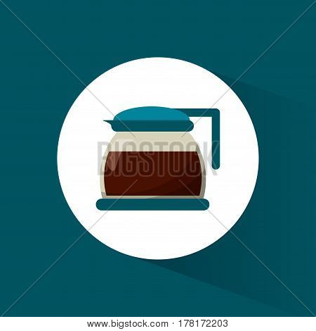 glass pot coffee maker ector illustration eps 10