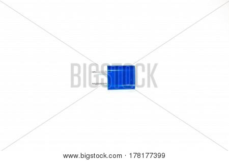 Power Plug and Socket isolated on black White background.