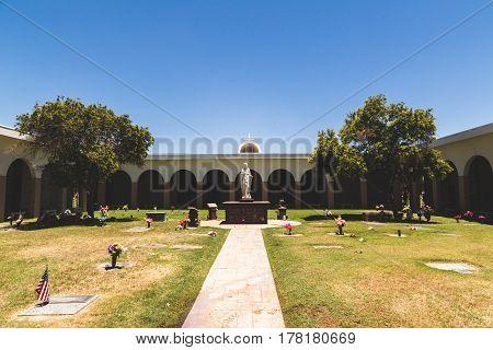 Christian Graveyard In Arizona
