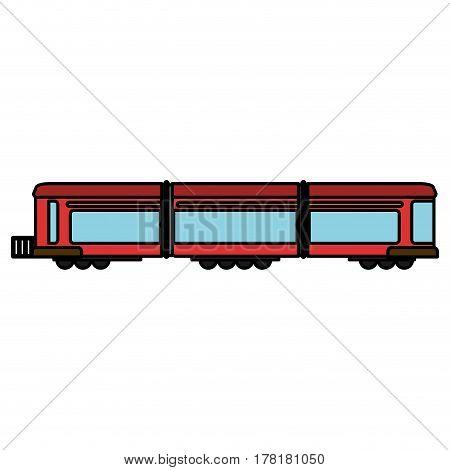 train wagon rail transport vector illustration eps 10