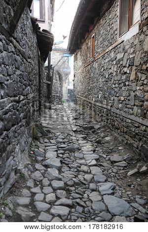 Street In Cumalikizik Village, Bursa, Turkey